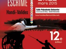 12ème Tournoi International d'Escrime de Villemomble, les 21 & 22 mars 2015