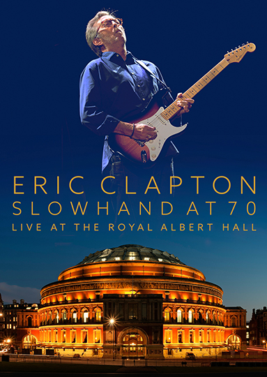 Eric Clapton Slowhand At 70 DVD cover BD
