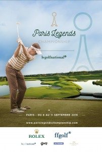 1ère ÉDITION DU PARIS LEGENDS CHAMPIONSHIP 40 LÉGENDES DU GOLF S'AFFRONTENT AU GOLF NATIONAL