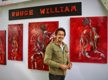 Rouge WILLIAM – l'artiste en vogue …
